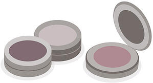 Cosmetic Compact Labels