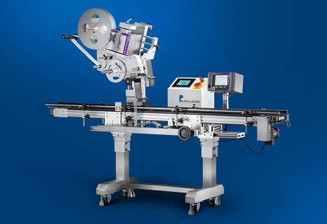 PL-211D Clamshell, Top Labeling Machine